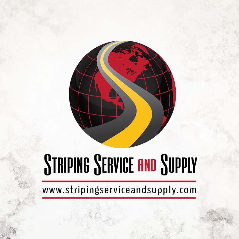 Striping Service and Supply Logo Design